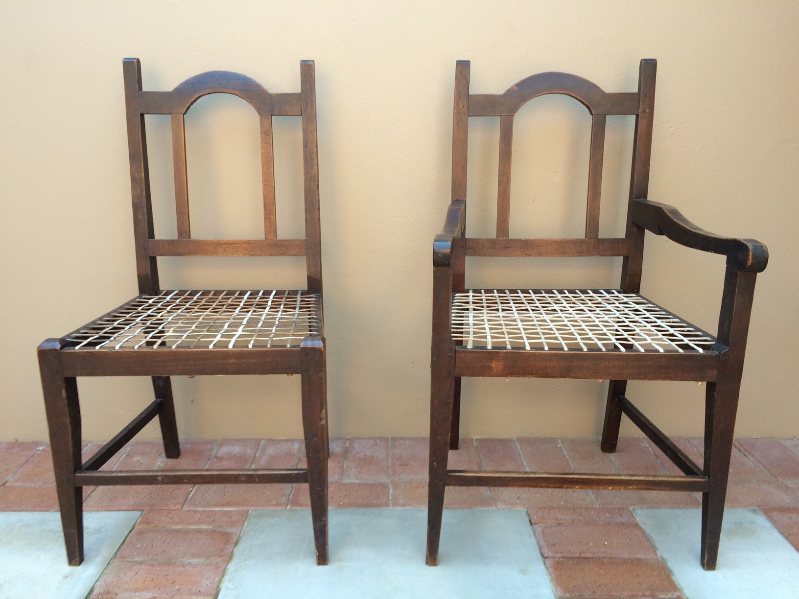 6 South African Stinkwood Chairs