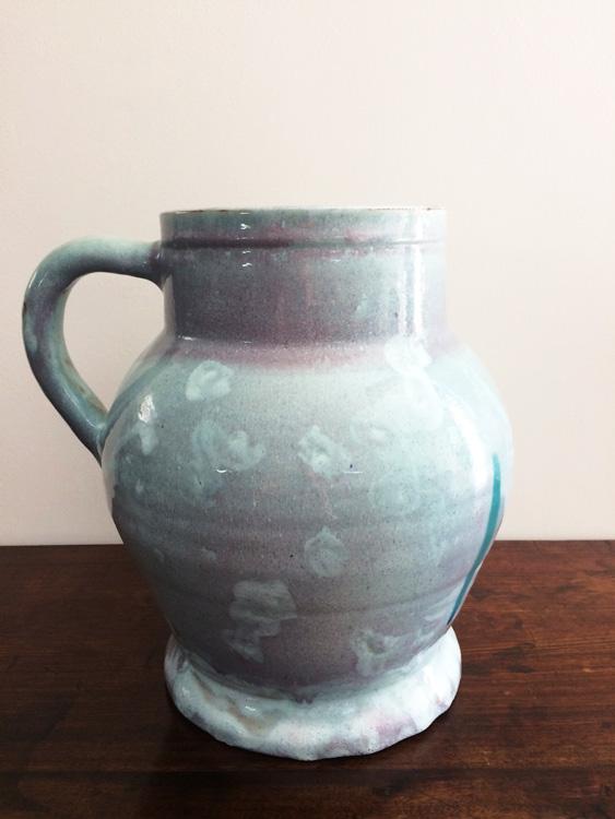 Ceramic Studio Large Grey Vase Riaan Bolt Antiques