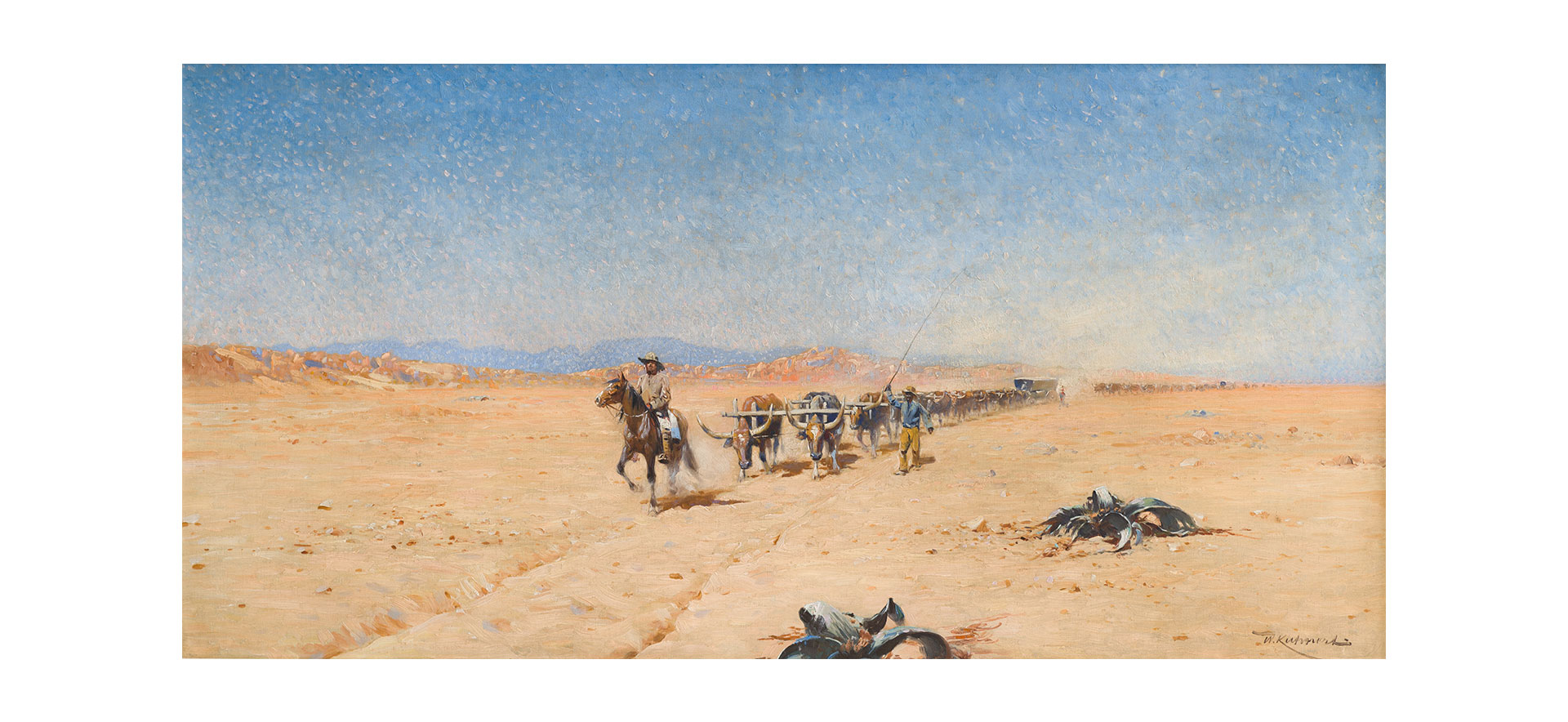 Wilhelm-Kuhnert-(Trek-through-the-Namib-Desert) sldier