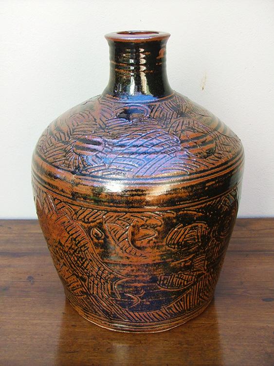 Esias Bosch Stoneware Vase Riaan Bolt Antiques
